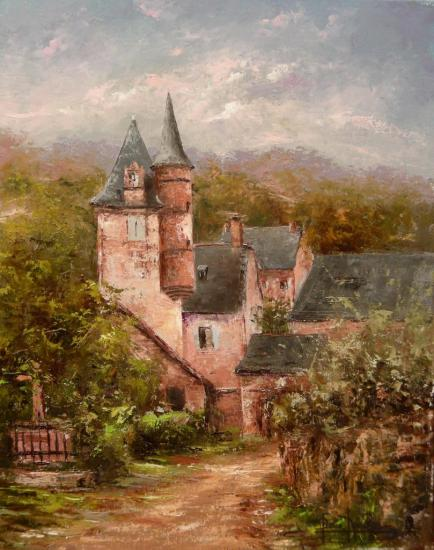 à Collonges-la-Rouge (41x33)
