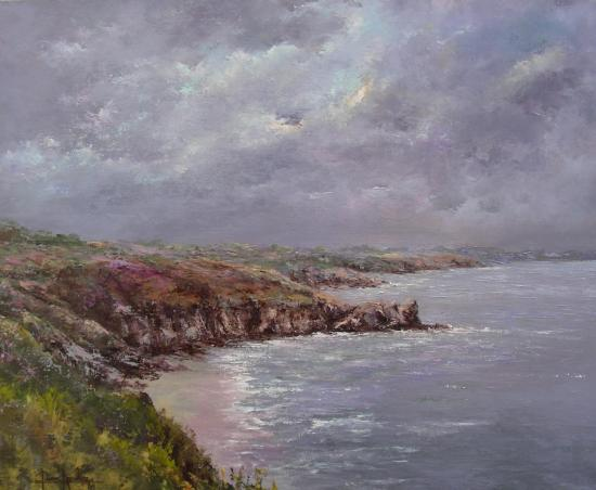 à la Pointe du Grouin (61x50)