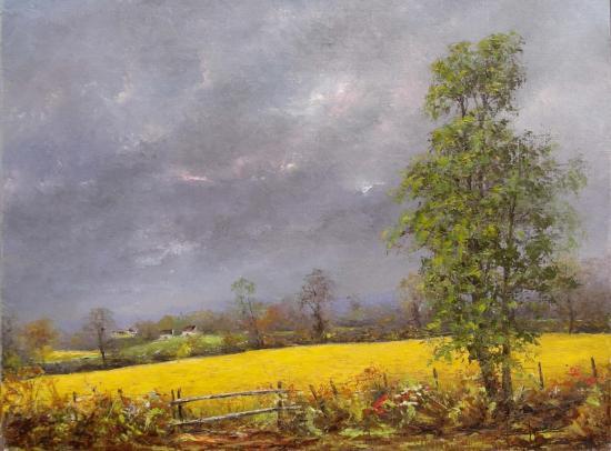 Avant l'orage (55x46)