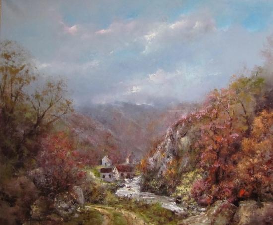 Dans la Vallée (65x54)