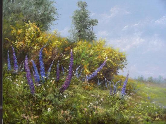 Duo de printemps (92x73)
