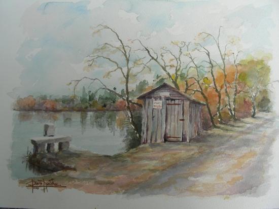 étang de la Rechèze