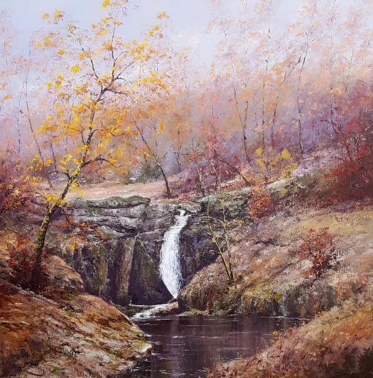 La cascade des Jarrauds (100x100)