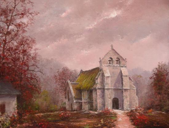 La chapelle de Lestards (55x46)