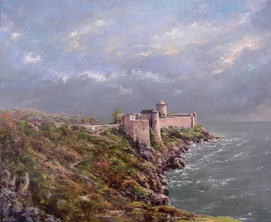 le Fort la Latte (73x60)