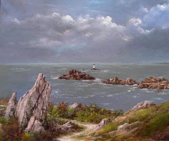 le phare de la Pierre Herpin (73x60)