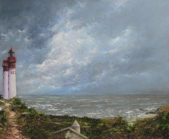 Les phares de l'Ile d'Aix (65x54)