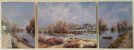 Lumière et douceur en Val de Loire (173x65)