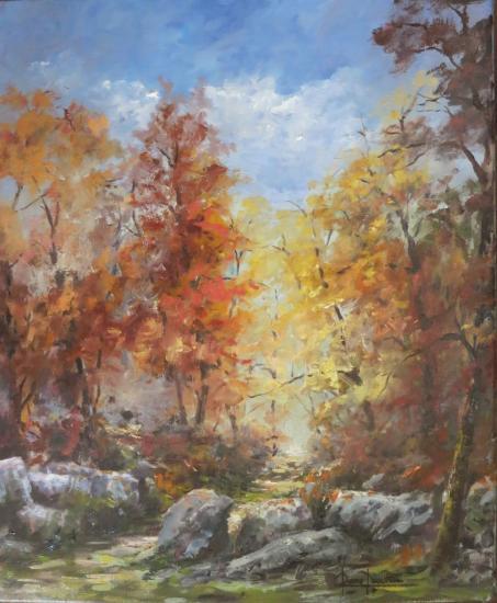 Soleil d'automne (46x38)