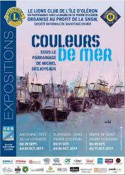 2019 affiche couleur de mer